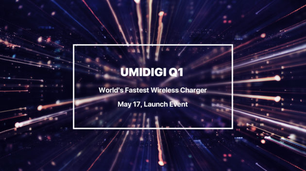UMIDIGI Q1: caricatore wireless a 15W
