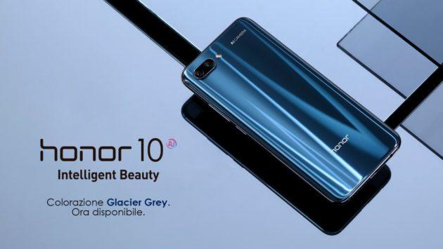 Honor 10 disponibile in due nuovi colori nelle principali catene di distribuzione italiane