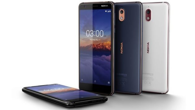 Nokia 3.1 da oggi sugli scaffali dei negozi italiani