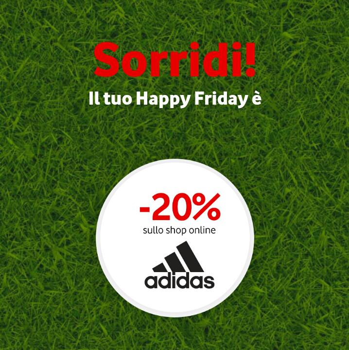 Vodafone Happy Friday il regalo di questa settimana - 150618