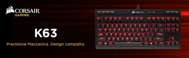 Amazon Prime Day: Tastiere Corsair
