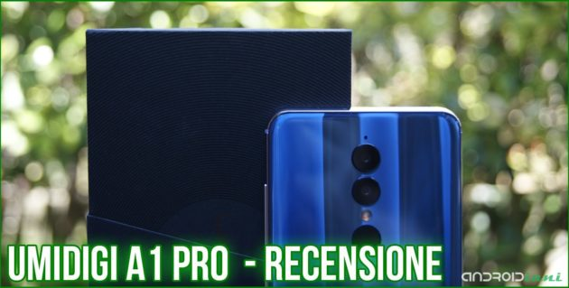 UMIDIGI A1 Pro: l'entry-level per chi cerca un design moderno | Recensione
