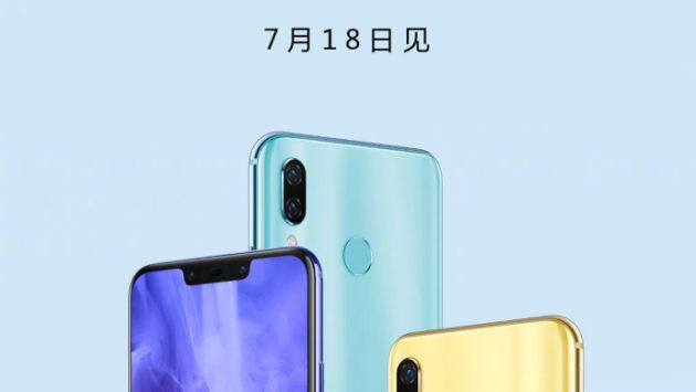 L'ufficializzazione di Huawei Nova 3 è stata confermata per il 18 Luglio