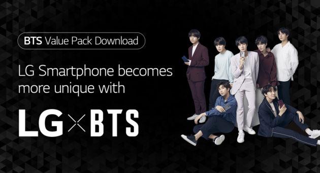 Il K-pop dei BTS arriva su LG G7