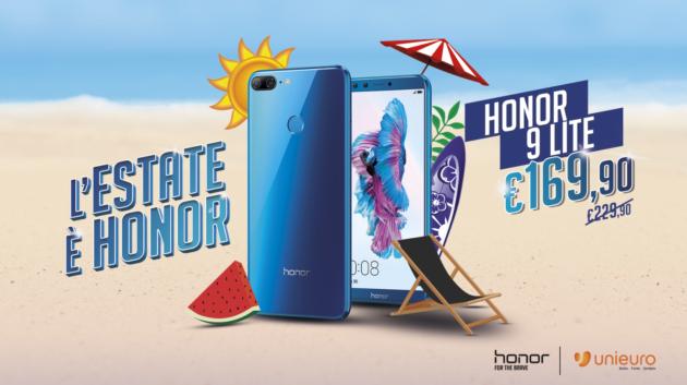 Honor 9 Lite in offerta a 169,90€ presso Unieuro