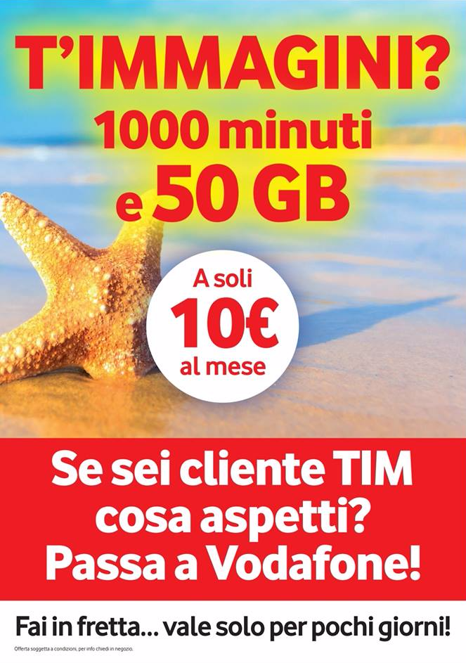 Vodafone Special Minuti 50GB stuzzica gli attuali clienti Tim (2)