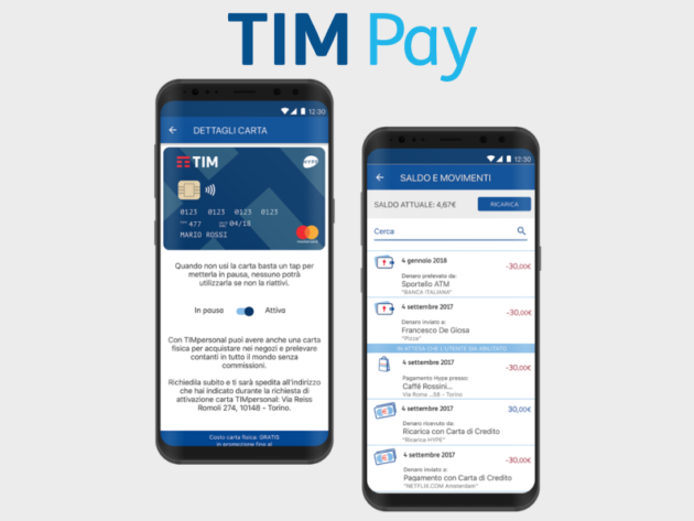 TIMPersonal diventa TIM Pay ed introduce i pagamenti contactless