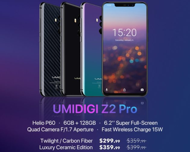 UMIDIGI Z2 Pro: in vendita su GearBest