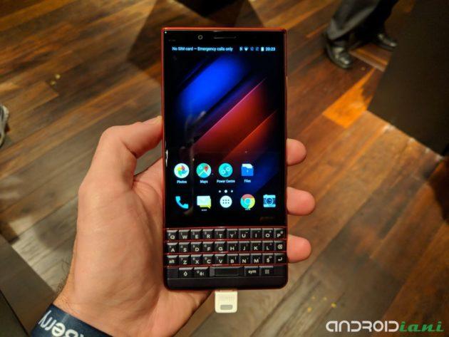IFA 2018: BlackBerry Key2 LE presentato ufficialmente