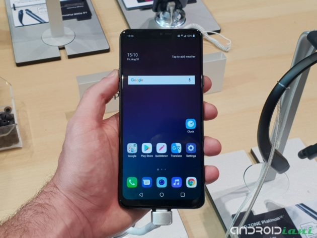 IFA 2018: LG amplia la serie G7 introducendo LG G7 Fit