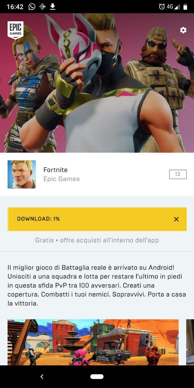Fortnite Mobile dowload