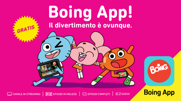 Boing App fa il boom di download sul Play Store