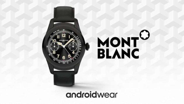 Montblanc Summit 2 sarà il primo smartwatch con Wear 3100