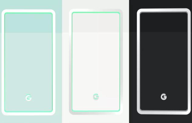 Google Pixel 3: saranno tre le colorazioni