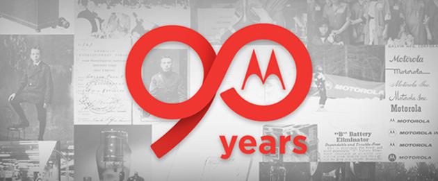 Motorola compie 90 anni e si prepara a 90 giorni di festeggiamenti