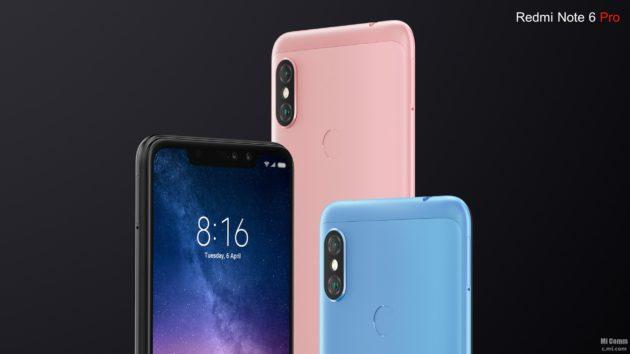 Xiaomi Redmi Note 6 Pro arriva ufficialmente in Italia