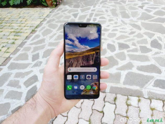 Huawei P20 Pro: in distribuzione le patch di Settembre
