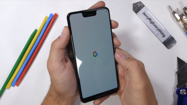 Pixel 3 XL Vs JerryRigEverything: durability test