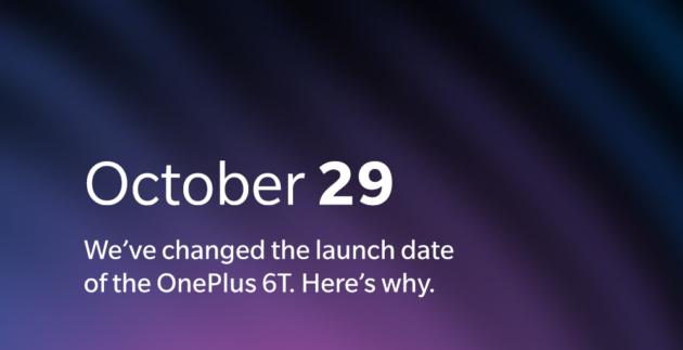 OnePlus 6T non sarà presentato il 30 Ottobre: colpa di Apple