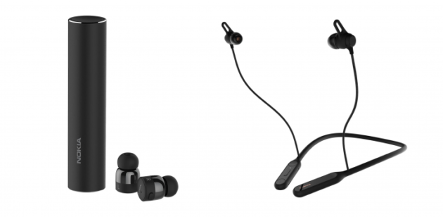 Nokia presenta: True Wireless Earbuds e Pro Wireless Earphones
