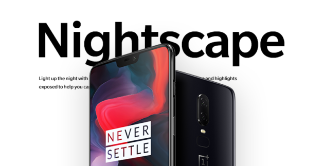 OnePlus 6: Nightscape in arrivo con l'ultima Open Beta di OxygenOS