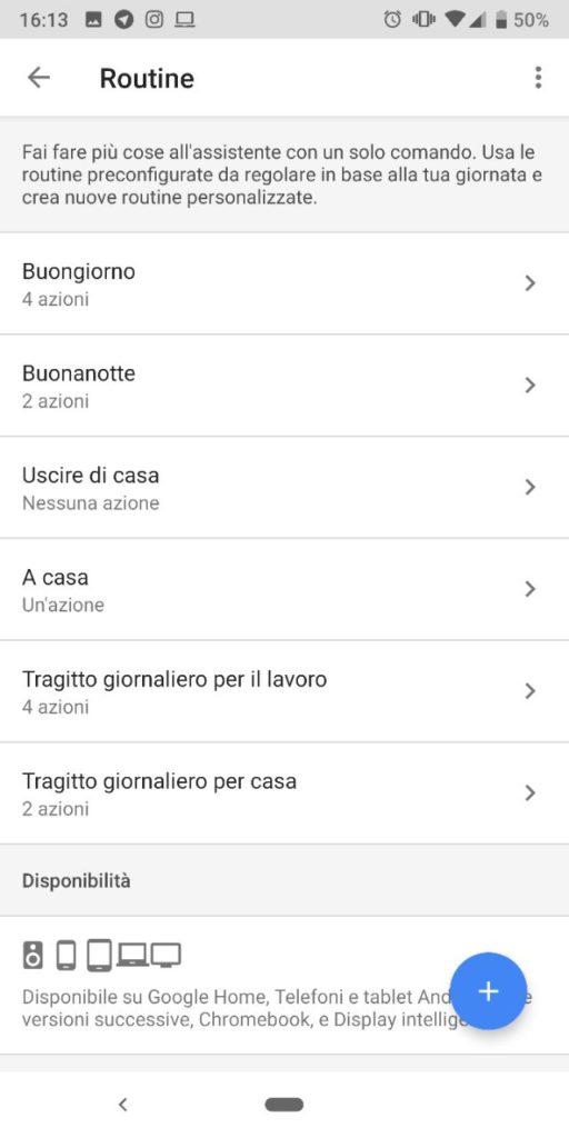 google routine