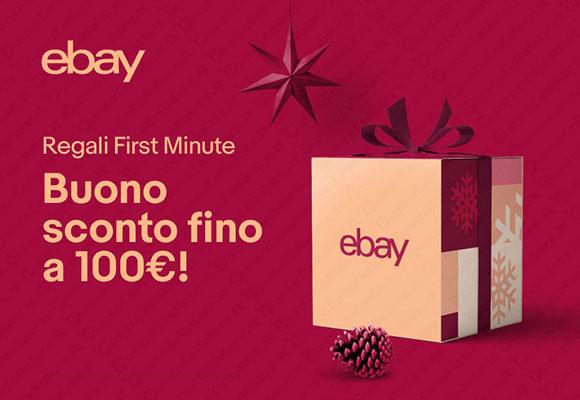 Ebay: sconto del 10% su tutto fino al 12/11
