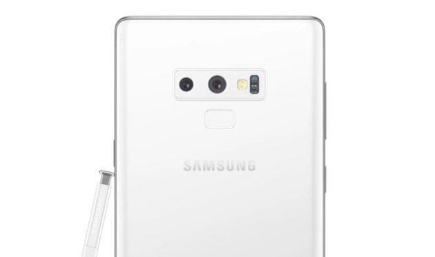 Samsung Galaxy Note 9: colorazione bianca per natale
