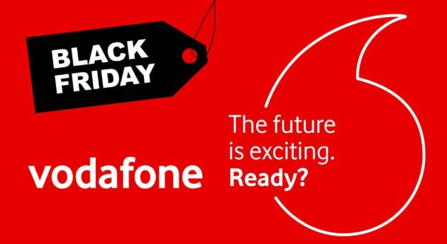 Black Friday Vodafone, 50GB al prezzo di 4,99 euro - 23/11/18