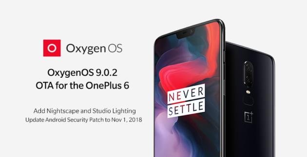 OnePlus 6: arriva la OxygenOS 9.0.2