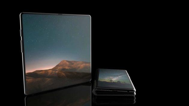 Samsung Galaxy F: video concept dello smartphone pieghevole