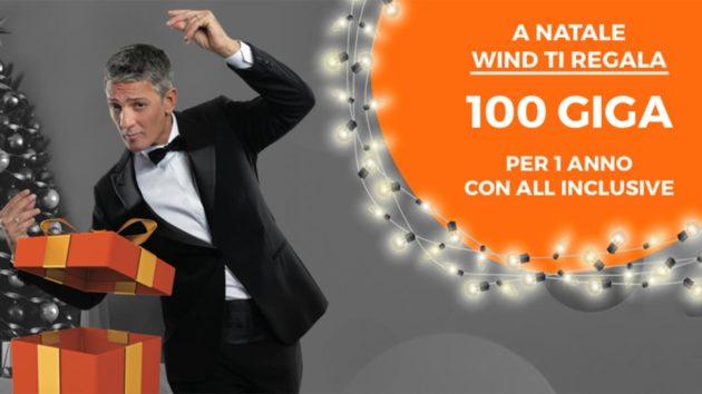 Wind regala 100 Giga con l'attivazione della sua nuova offerta