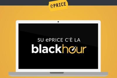 ePRICE Black Hour: 60 prodotti ogni ora