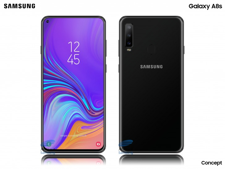 Samsung Galaxy A8s sarà presentato il 10 dicembre