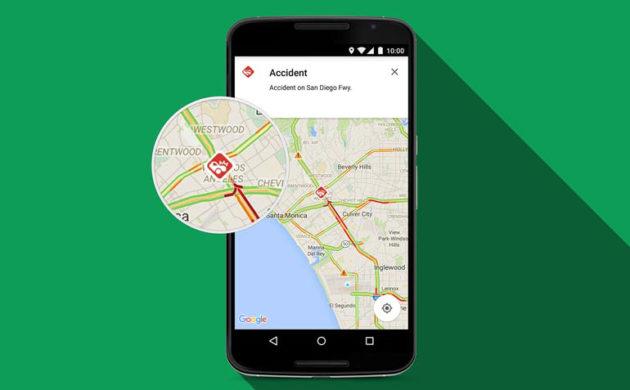 Google Maps: arrivano le segnalazioni di incidenti e autovelox