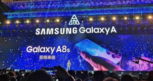Galaxy A8s non avrà il jack audio da 3.5mm