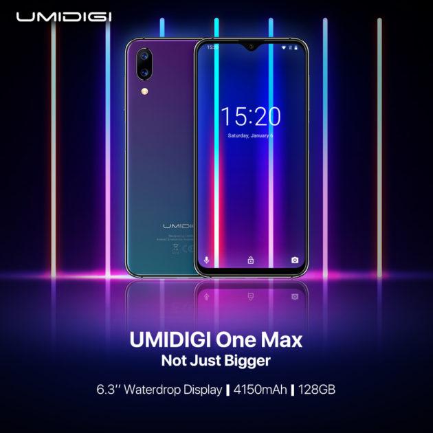 UMIDIGI One Max: indiscrezioni sul nuovo smartphone UMIDIGI