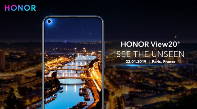Honor View 20 ufficiale: display con foro e camera da 48 MP