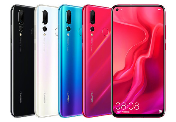 Huawei Nova 4 ufficiale: Infinity-O display e fotocamera da 48MP