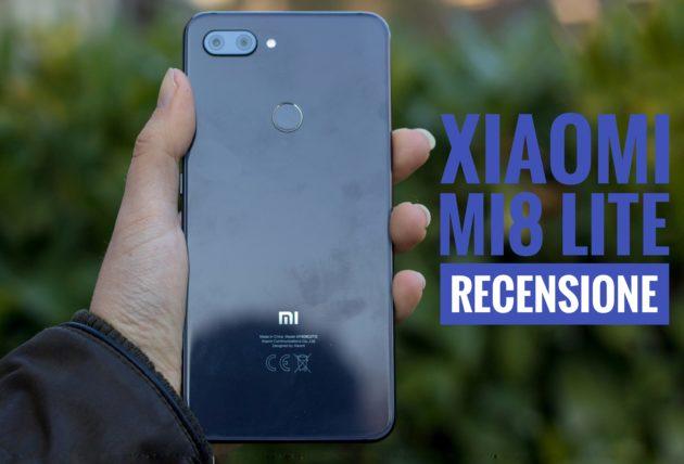 Xiaomi Mi8 Lite : elegante e premium | Recensione