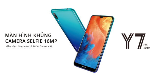 Huawei Y7 Pro 2019 ufficiale: Snapdragon 450 e 3GB di RAM
