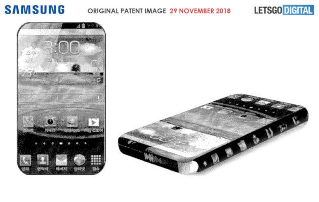 Samsung brevetta uno smartphone con il display su (quasi) tutti i lati