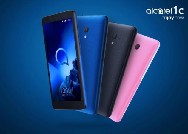 Alcatel 1X e 1C 2019: smartphone Android economici, si parte da 70 euro