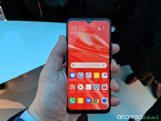Huawei P Smart 2019: ufficialmente disponibile in Italia
