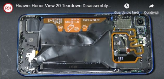 Honor View 20: facile da riparare nel primo video teardown