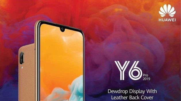 Huawei Y6 Pro 2019 Ufficiale: display da 6