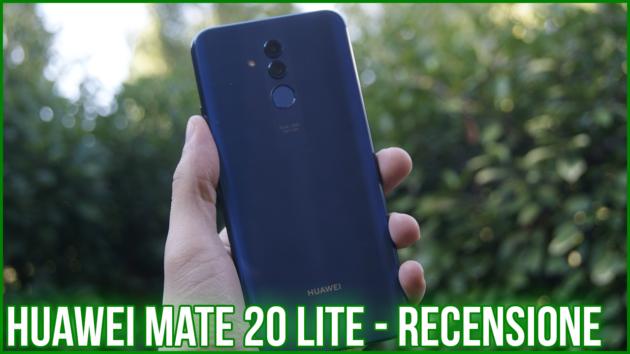 Huawei Mate 20 Lite, senza infamia e senza lode - Recensione
