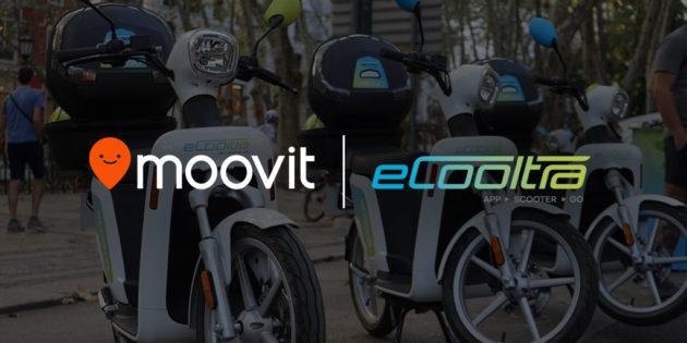 eCooltra e Moovit siglano accordo per la green mobility