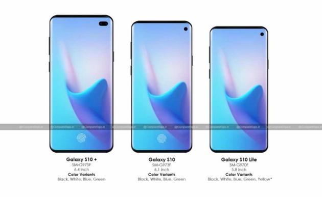 Samsung Galaxy S10: verrà prodotto in quattro differenti versioni