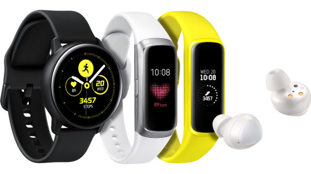 Galaxy Watch Active, Fit, Fite, e Buds: tutti i nuovi indossabili presentati da Samsung